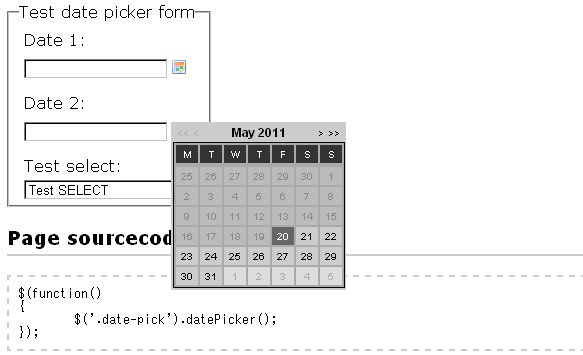 date-picker